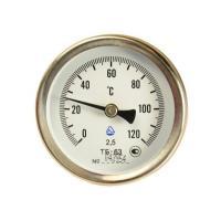 Термометр биметаллический, 0-120°С
